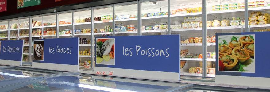produits congelés frais