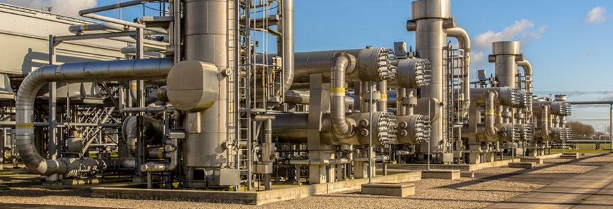 Utilisation de gaz industriel