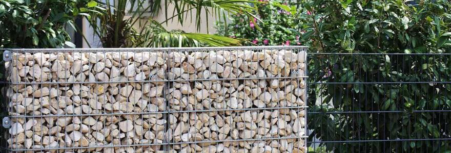 clôture en gabion