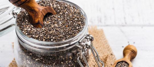 bienfaits des graines de Chia