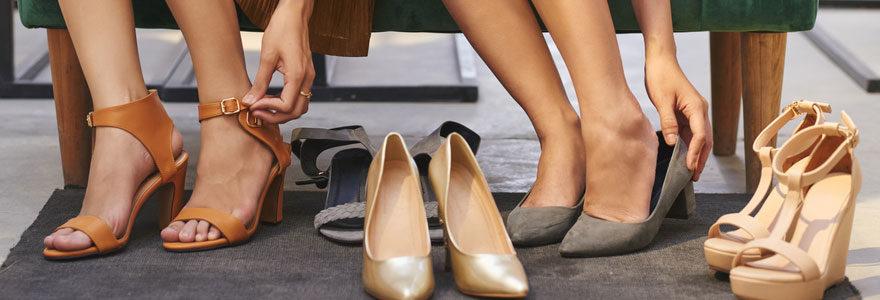 Des chaussures à la mode