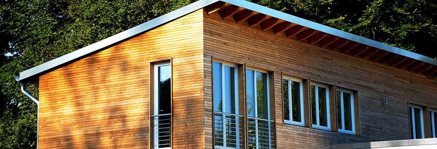 extension en bois