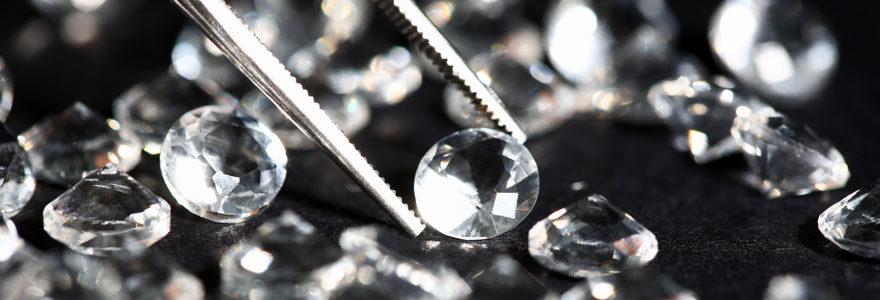 Vente de diamant